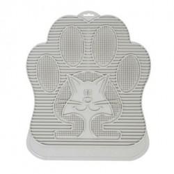 Katzentoilettenvorleger Omega Paw hellgrau
