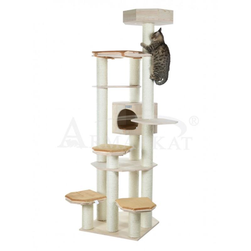 kratzbaum aus holz armarkat aw9201 heimfutterservice. Black Bedroom Furniture Sets. Home Design Ideas