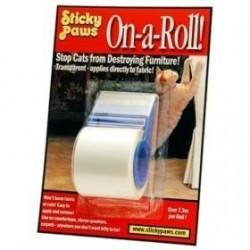 Sticky Paws Schutzklebeband für Möbel, Rolle 10 m