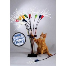 Vee-Toys PURRfect Feather Bouncer Cat Toy