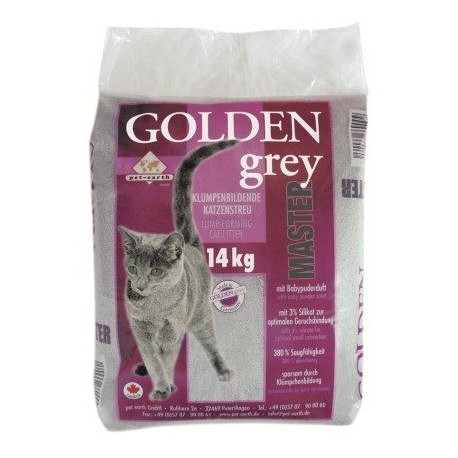 Golden Grey Master kattengrit
