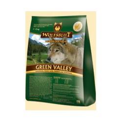 Wolfsblut Green Valley Trockenfutter für Hunde mit Lamm und Lachs 15 kg