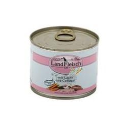 Landfleisch Schlemmertopf Lachs & Geflügel 195g