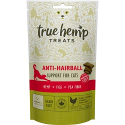 TRUE HEMP™ LECKERBISSEN • ANTI HAIRBALL 50 g