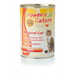 200gr Power of Nature Rind Katzen Nassfutter