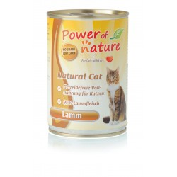 400gr Power of Nature Lamm Katzen Nassfutter
