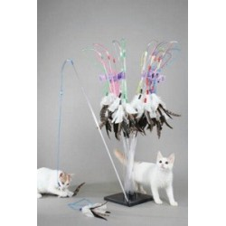 Vee-Toys PURRfect Feather Cat Toy